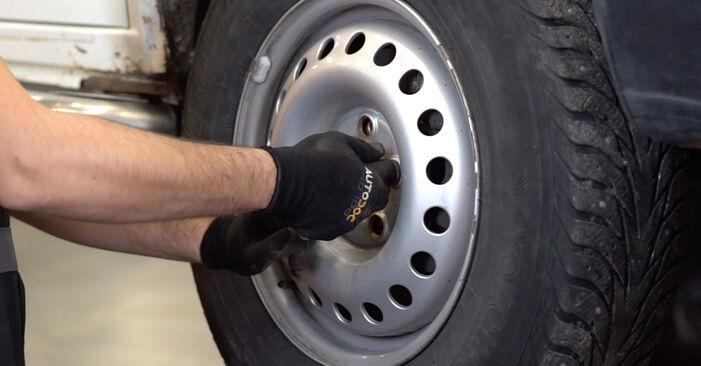 Consigli passo-passo per la sostituzione del fai da te VW T4 Transporter 2003 2.5 TDI Syncro Ammortizzatori