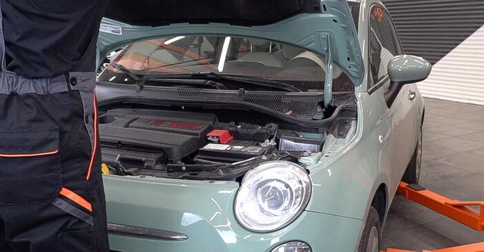 Wie Ölfilter Fiat 500 312 1.2 2007 tauschen - Kostenlose PDF- und Videoanleitungen