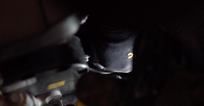 Wie schwer ist es, selbst zu reparieren: Ölfilter Fiat 500 312 1.2 2013 Tausch - Downloaden Sie sich illustrierte Anleitungen