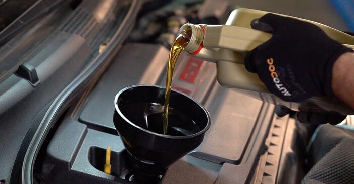 FIAT 500 0.9 Ölfilter ausbauen: Anweisungen und Video-Tutorials online