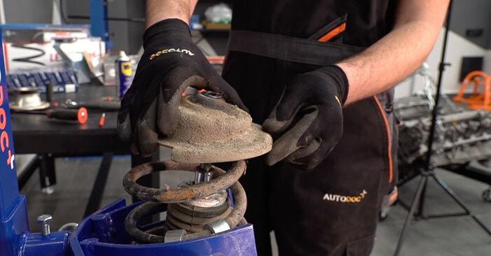 Wie schwer ist es, selbst zu reparieren: Stoßdämpfer Fiat Doblo Cargo 1.2 2006 Tausch - Downloaden Sie sich illustrierte Anleitungen