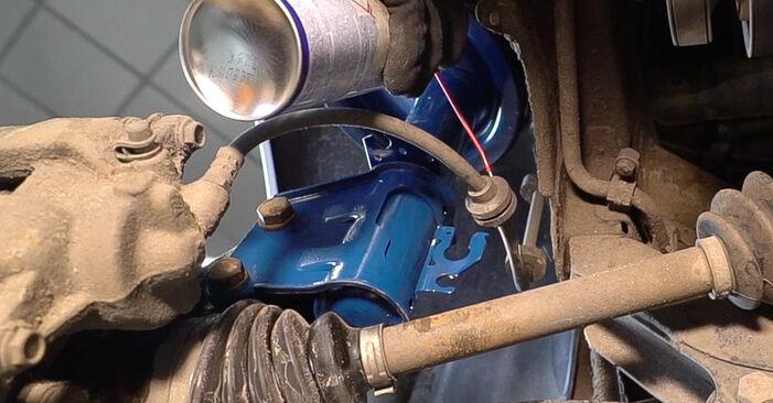Doblo Cargo (223_) 1.3 JTD 16V 2011 1.3 D Multijet Stoßdämpfer - Handbuch zum Wechsel und der Reparatur eigenständig