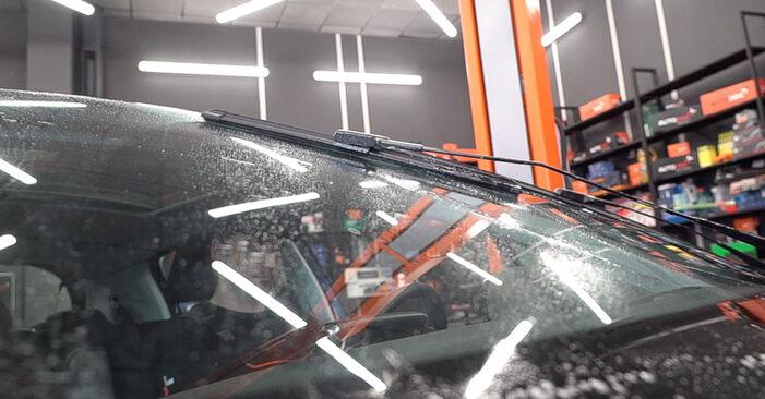 Scheibenwischer Ihres Peugeot 208 1 1.6 2020 selbst Wechsel - Gratis Tutorial