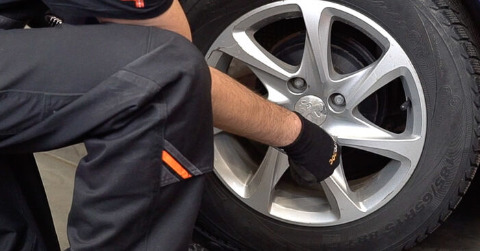 How to replace PEUGEOT 208 I Hatchback (CA_, CC_) 1.4 HDi 2013 Springs - step-by-step manuals and video guides