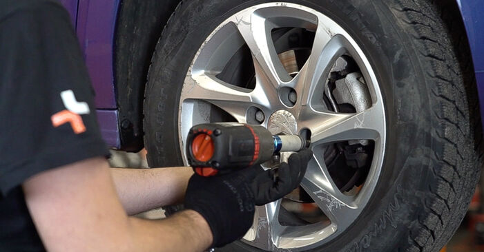 Changing Anti Roll Bar Links on PEUGEOT 208 I Hatchback (CA_, CC_) 1.6 BlueHDi 100 2015 by yourself