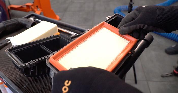 208 I 3/5 portes (CA_, CC_) 1.0 2013 Filtre à Air manuel d'atelier pour remplacer soi-même