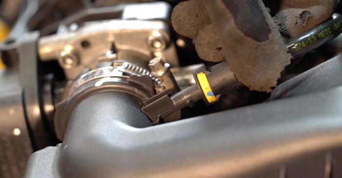 Peugeot 208 CC 1.2 2014 Filtre à Air remplacement : manuels d'atelier gratuits