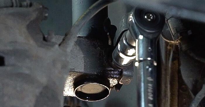 Austauschen Anleitung Stoßdämpfer am Renault Scenic 2 2005 1.9 dCi selbst