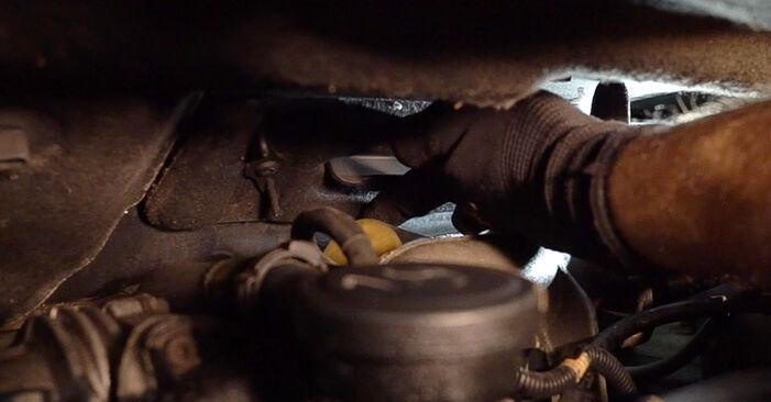 Vanskelighetsgrad: Bytte av Kupefilter på Renault Scenic 2 1.9 dCi 2009 – last ned illustrert veiledning