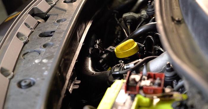 Tidsforbruk: Bytte av Kupefilter på Renault Scenic 2 2003 – informativ PDF-veiledning