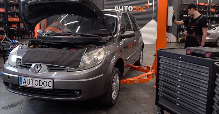 Wie RENAULT SCÉNIC 2.0 2007 Kraftstofffilter ausbauen - Einfach zu verstehende Anleitungen online