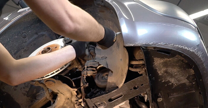 Kraftstofffilter beim RENAULT SCÉNIC 1.5 dCi 2010 selber erneuern - DIY-Manual