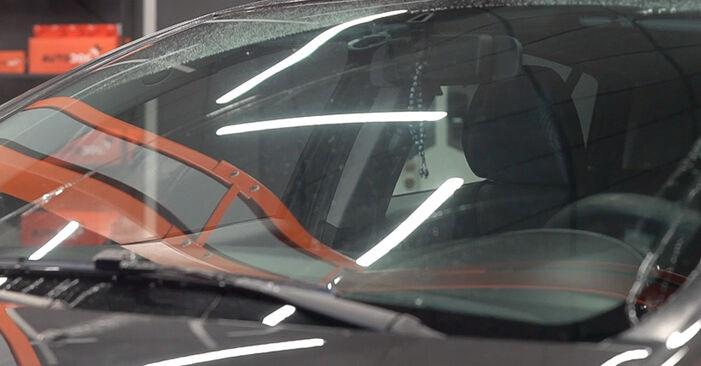 Wie schwer ist es, selbst zu reparieren: Scheibenwischer FIAT BRAVO II (198) 1.9 D Multijet 2012 Tausch - Downloaden Sie sich illustrierte Anleitungen