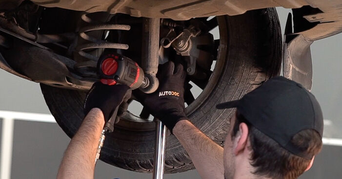 Austauschen Anleitung Federn am FIAT BRAVO II (198) 2016 1.9 D Multijet selbst
