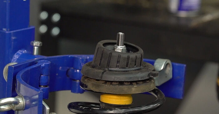 Wie Federn FIAT BRAVO II (198) 1.6 D Multijet 2007 austauschen - Schrittweise Handbücher und Videoanleitungen