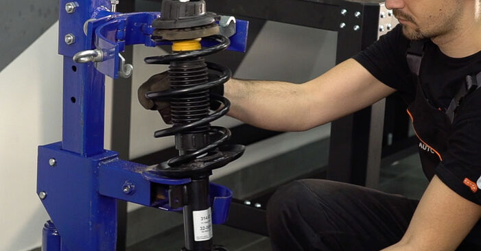 Federn FIAT BRAVO II (198) 1.4 2008 wechseln: Kostenlose Reparaturhandbücher