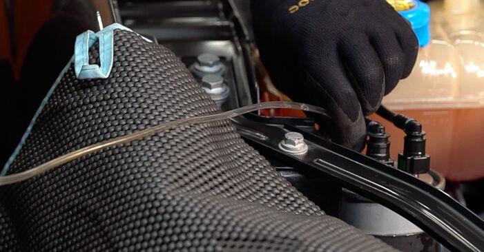 Faites-le vous-même : tutoriel en ligne pour le changement de FIAT BRAVA Filtre à Carburant