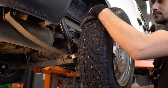 Ako odstrániť FIAT DOBLO 1.3 JTD 16V 2004 Tlmič pruzenia - online jednoduché inštrukcie