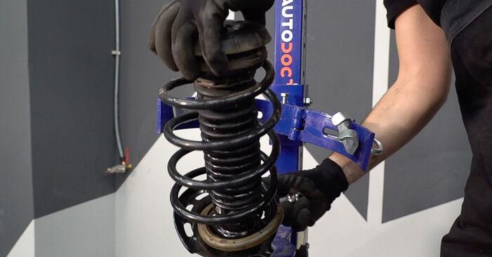 Stoßdämpfer Peugeot 208 1 1.6 HDi 2014 wechseln: Kostenlose Reparaturhandbücher