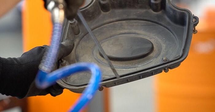 Come rimuovere ALFA ROMEO 159 2.4 JTDM (939.BXM1B) 2010 Filtro Aria - istruzioni online facili da seguire