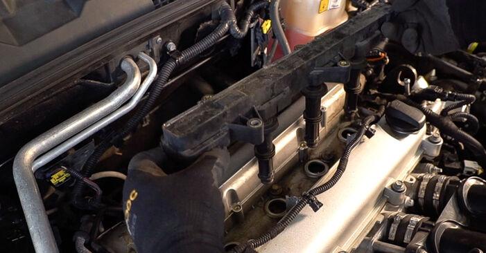 Wie schwer ist es, selbst zu reparieren: Zündkerzen Alfa Romeo 159 Sportwagon 1.8 TBi 2012 Tausch - Downloaden Sie sich illustrierte Anleitungen