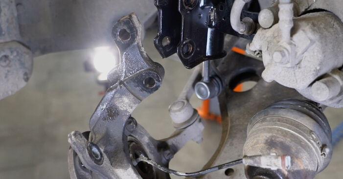 Radlager Opel Astra H Limousine 1.3 CDTi (L69) 2009 wechseln: Kostenlose Reparaturhandbücher
