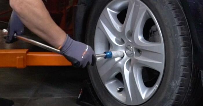 Wie Radlager Opel Astra H Limousine 1.6 (L69) 2007 tauschen - Kostenlose PDF- und Videoanleitungen