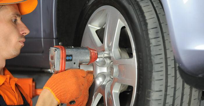 Wechseln Domlager am AUDI A4 Avant (8ED, B7) 2.0 TDI quattro 2007 selber