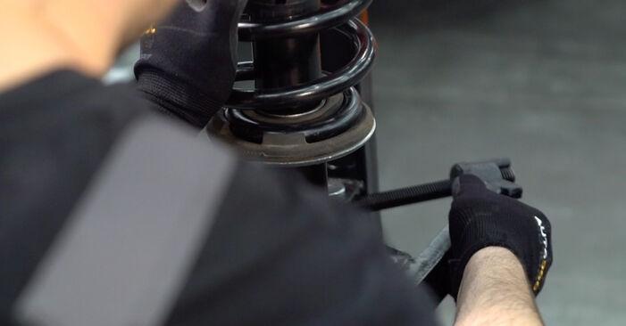 Stoßdämpfer am AUDI A4 Avant (8ED, B7) 3.0 TDI quattro 2004 wechseln – Laden Sie sich PDF-Handbücher und Videoanleitungen herunter