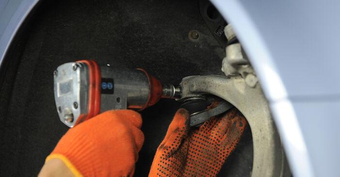 Wie schwer ist es, selbst zu reparieren: Radlager Audi A4 B7 Avant 1.8 T 2005 Tausch - Downloaden Sie sich illustrierte Anleitungen