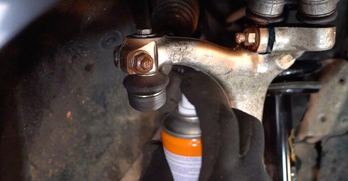 Wie schwer ist es, selbst zu reparieren: Spurstangenkopf Audi A4 B7 Avant 1.8 T 2005 Tausch - Downloaden Sie sich illustrierte Anleitungen