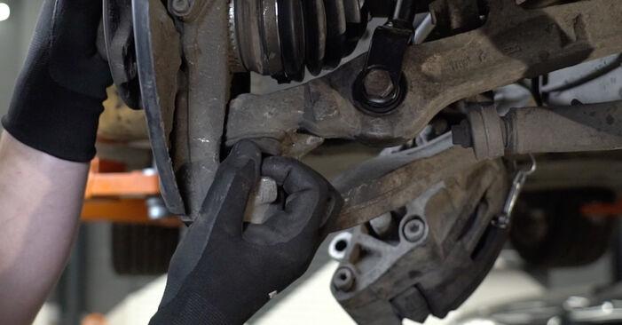 Wie AUDI A4 2.0 2008 Radlager ausbauen - Einfach zu verstehende Anleitungen online
