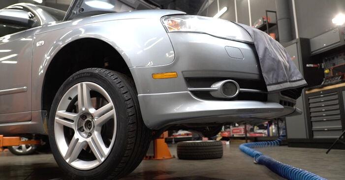 Wechseln Radlager am AUDI A4 Limousine (8EC, B7) 2.0 TFSI quattro 2007 selber