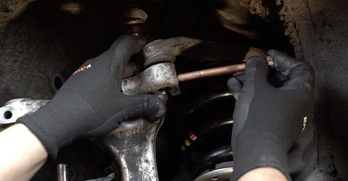 A4 Limousine (8EC, B7) 2.0 2005 1.9 TDI Radlager - Handbuch zum Wechsel und der Reparatur eigenständig