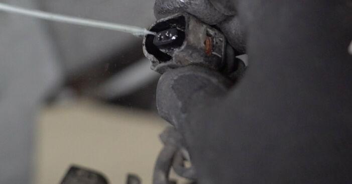 Wie Radlager AUDI A4 Limousine (8EC, B7) 1.9 TDI 2005 austauschen - Schrittweise Handbücher und Videoanleitungen
