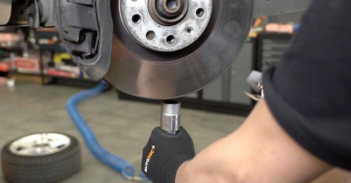 Kaip pakeisti AUDI A4 Sedanas (8EC, B7) 2.0 TDI 16V 2005 Spyruoklės - išsamios instrukcijos ir vaizdo pamokos