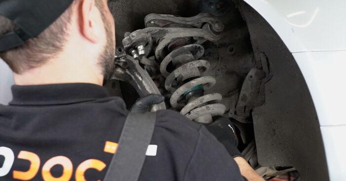 A4 Limousine (8EC, B7) 2.0 2005 1.9 TDI Stoßdämpfer - Handbuch zum Wechsel und der Reparatur eigenständig