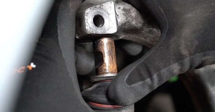 Stoßdämpfer Ihres Audi A4 B7 Limousine 3.0 TDI quattro 2007 selbst Wechsel - Gratis Tutorial
