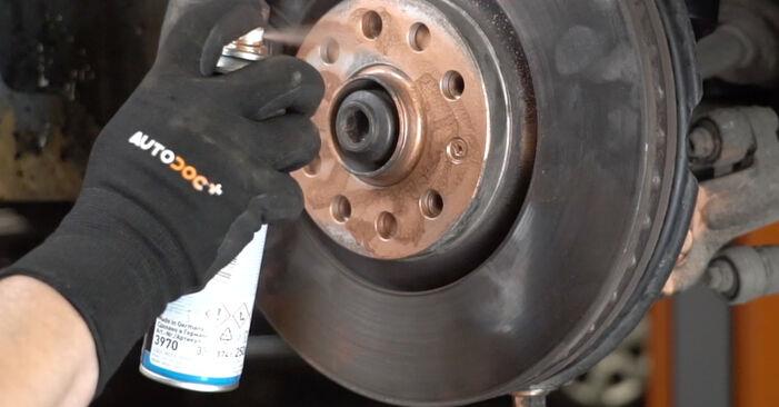 Wie schwer ist es, selbst zu reparieren: Stoßdämpfer Audi A4 B7 Limousine 2.0 TFSI 2005 Tausch - Downloaden Sie sich illustrierte Anleitungen