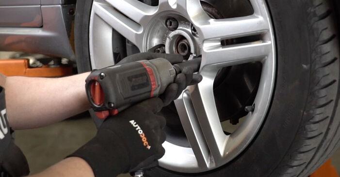 AUDI A4 2.0 TDI 16V Stoßdämpfer ausbauen: Anweisungen und Video-Tutorials online