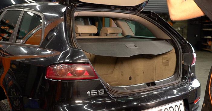 Federn Alfa Romeo 159 939 1.9 JTDM 8V 2007 wechseln: Kostenlose Reparaturhandbücher