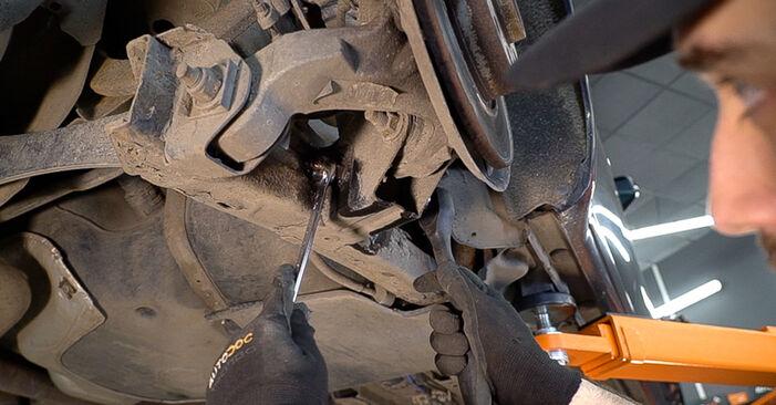 159 Sportwagon (939) 2.4 JTDM (939.BXM1B) 2010 2.4 JTDM Stoßdämpfer - Handbuch zum Wechsel und der Reparatur eigenständig