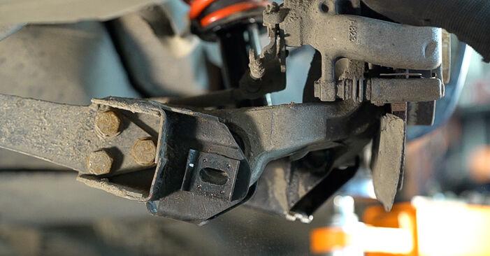 Stoßdämpfer Alfa Romeo 159 Sportwagon 2.0 JTDM 2008 wechseln: Kostenlose Reparaturhandbücher