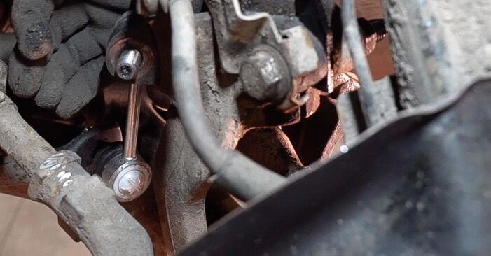 Austauschen Anleitung Koppelstange am Alfa Romeo 159 Sportwagon 2009 1.9 JTDM 16V selbst