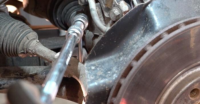 Tausch Tutorial Koppelstange am ALFA ROMEO 159 Sportwagon (939) 2011 wechselt - Tipps und Tricks