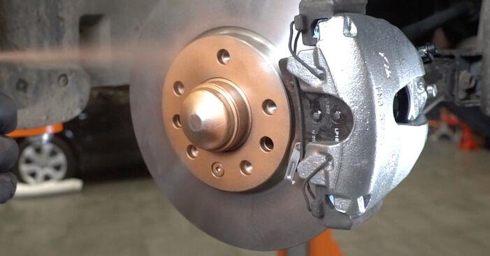 Wie schwer ist es, selbst zu reparieren: Federn Opel Astra H Limousine 1.6 (L69) 2013 Tausch - Downloaden Sie sich illustrierte Anleitungen