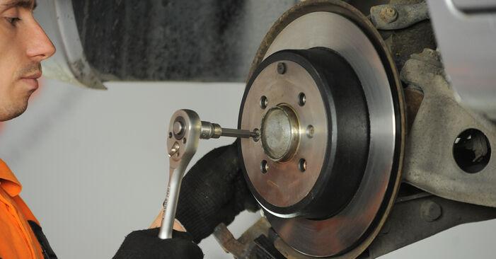 406 (8B) 1.9 TD 1995 1.8 16V Radlager - Handbuch zum Wechsel und der Reparatur eigenständig