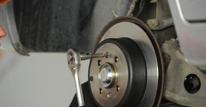 PEUGEOT 406 1.8 16V Radlager ausbauen: Anweisungen und Video-Tutorials online