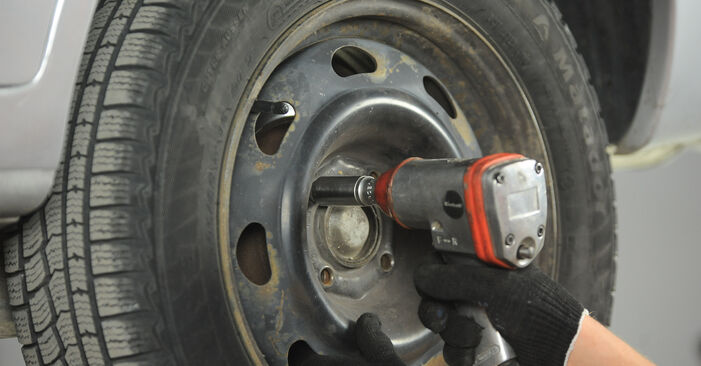Wie PEUGEOT 406 1.9 TD 1999 Bremsscheiben ausbauen - Einfach zu verstehende Anleitungen online