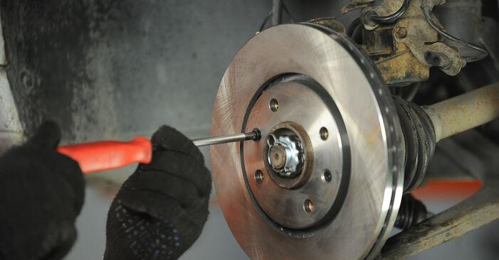 Radlager beim PEUGEOT 406 2.0 16V 2002 selber erneuern - DIY-Manual
